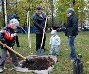 В Санкт — Петербурге прошел День благоустройства города