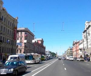 Невский проспект частично станет пешеходным