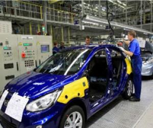 В Питере начало расти производство автомобилей