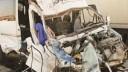 В районе Ульяновки пассажирский микроавтобус столкнулся с грузовиком