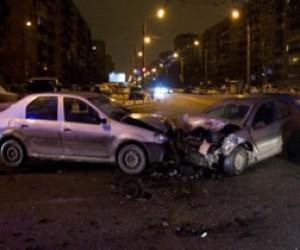 В Галерном проезде столкнулись четыре машины