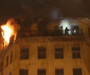 Пожар на улице Шостаковича