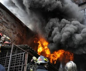 Пожар на проспекте Стачек