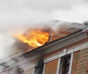 Пожар в Апраксином дворе потушен