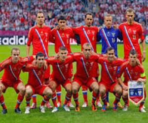 В Санкт-Петербург прибыла сборная России