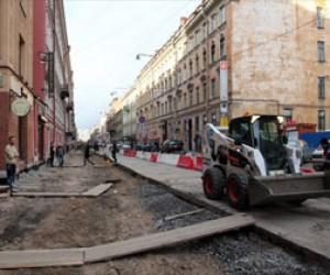 На улицах Рубинштейна и Марата — новые тротуары