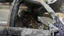 В сгоревшей машине был найден труп