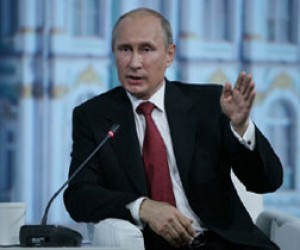 В Петербургском экономическом форуме принял участие Владимир Путин