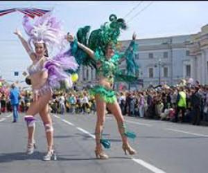 Бразильский карнавал в Петербурге