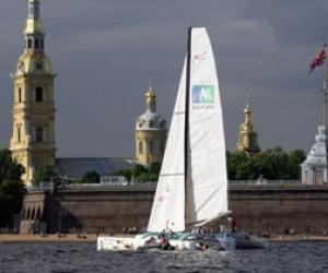 Экстремальная парусная гонка в Петербурге