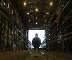 В Петербурге для Черноморского флота была спущена новая подводная лодка