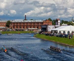 Регата «Золотые весла» в Петербурге