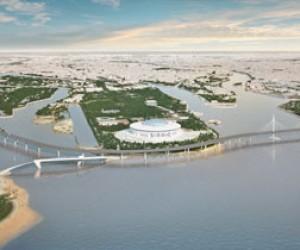 На Крестовском острове построят пешеходный мост