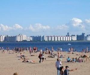 На городских пляжах появятся лежаки и душевые
