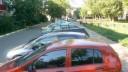Скачки по припаркованным авто