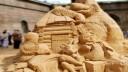 На пляже Петропавловки открылась выставка песчаных фигур