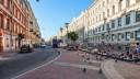 Большая Московская улица парализована из-за сгоревшего мусора