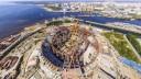 Строительство стадиона ФК «Зенит» выполнено почти на 74%