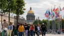 В Северной столице отмечается рост турпотока по сравнению с прошлым годом