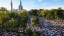 Празднование Курбан-Байрама парализовало движение автотранспорта в Петербурге
