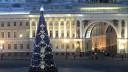Петербург отдал предпочтение искусственным елям