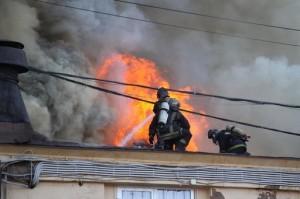 Сгорели Бадаевские склады