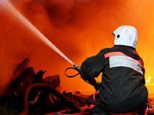 Сегодня утром в Санкт- Петербурге ,тушили серьезный пожар