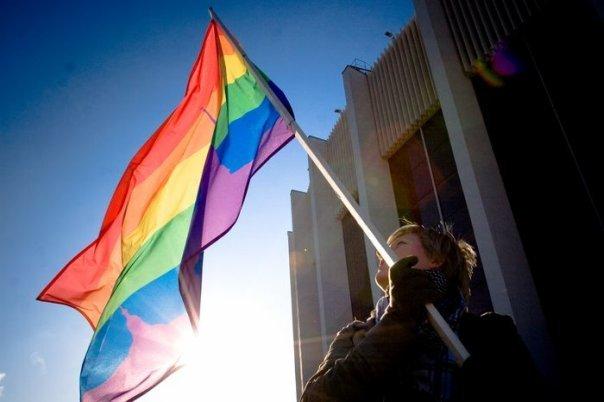 Акция геев прошла в Петербурге относительно спокойно