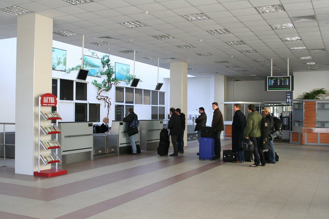 аварийная посадка в Симферополе