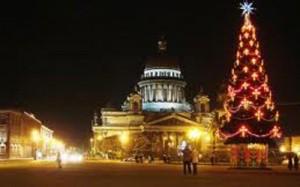 Петербург готовится к встрече Нового года и Рождества