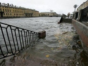 Петербург могло затопить.