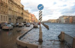 Возможное затопление Петербурга