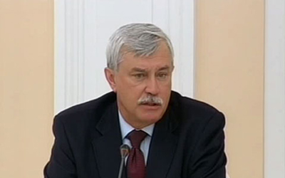 В прессе появилась информация о возможной отставке Георгия Полтавченко