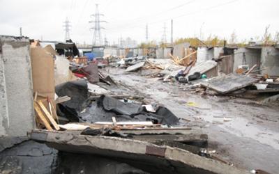 Уходя в отставку, Роман Филимонов нашел напутственные слова для владельцев уничтоженных гаражей