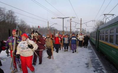 Возобновляется движение поезда «Лыжные стрелы»