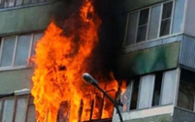 В результате пожара в Купчино погиб человек
