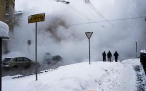 В Невском районе Петербурга произошло сразу два прорыва горячей воды