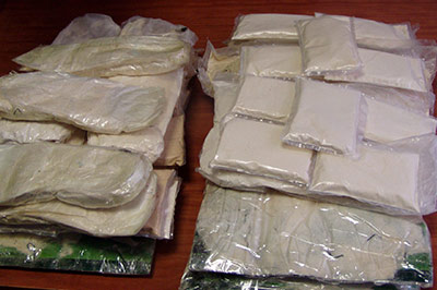 За 6 кг наркотиков женщина попадет под суд