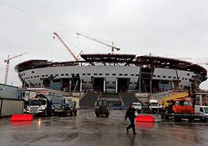 В Санкт-Петербурге продолжается подготовка к ЧМ-2018 по футболу
