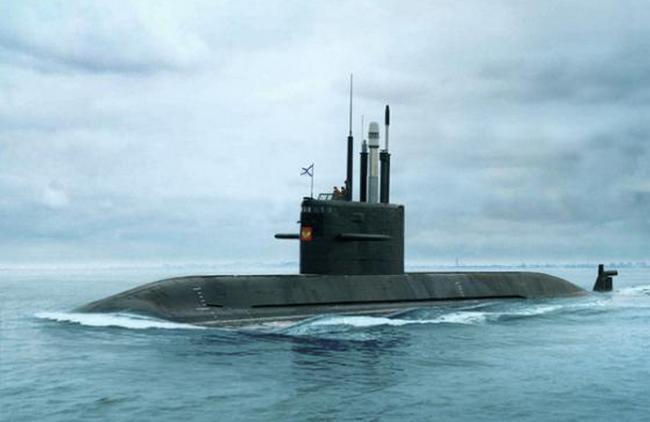подводная челнок проекта 677 калина