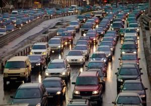 Петербург признали одни из лидеров по загруженности дорог