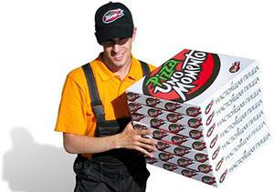 Чтобы поесть пиццу, необязательно идти в пиццерию. Ее доставку можно заказать по телефону
