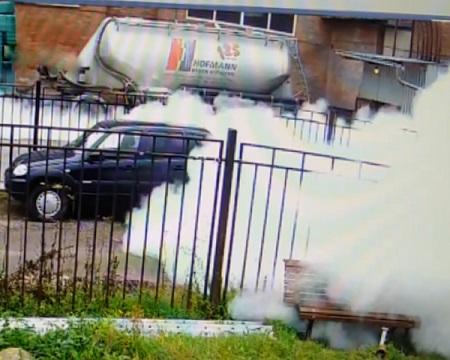 На севере Петербурга произошел странный взрыв