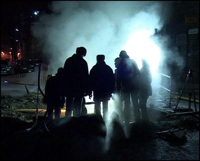 Произошла авария в Адмиралтейском районе Петербурга