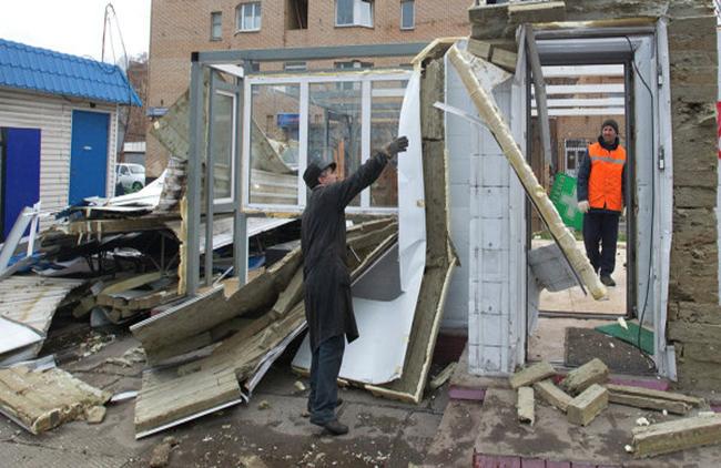 Около 400 ларьков будут снесены в Санкт-Петербурге