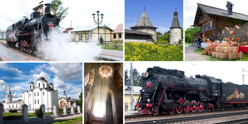 Впервые в Псков и Великий Новгород на ретропоезде