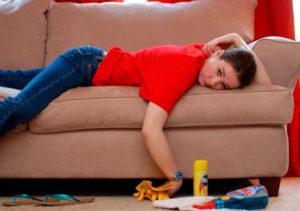 Если мягкая мебель стала грязной